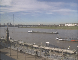 Düsseldorf Rheinufer Webcam Live