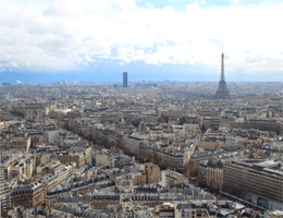 Paris Skyline Webcam Live