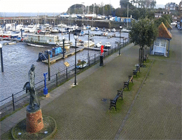Watchet Marina and Esplanade Webcam Live