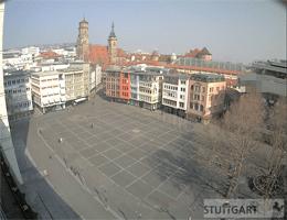 Stuttgart Marktplatz Webcam Live