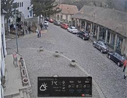 Zebegény – Main Square Webcam Live
