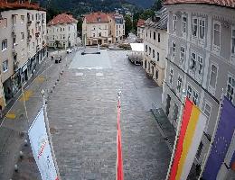 Idrija – Mestni Trg Webcam Live