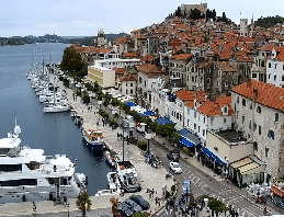 Šibenik – Panorama Webcam Live