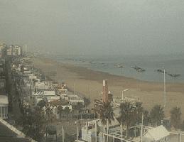Cattolica – Spiaggia La Playa Webcam Live