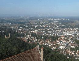 Weinheim Panorama Webcam Live