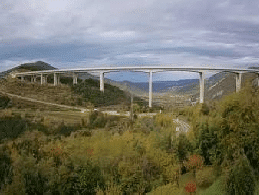 Črni Kal – Črni Kal Viaduct Webcam Live