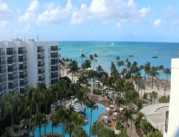 Palm Beach – Aruba Marriott Resort Webcam Live
