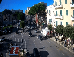 Gaeta Piazza della Libertà Webcam Live