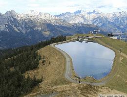 Leogang Großer Asitz Gipfelkreuz Webcam Live