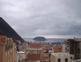 Budva Panorama Webcam Live