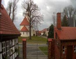 Dahme/Mark Dorfkirche Schöna Webcam Live