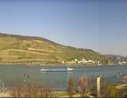 Bingen Papa Rhein Hotel Webcam Live