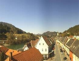 Lavamünd Panorama Webcam Live
