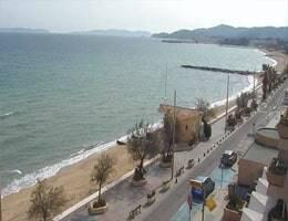 Le Lavandou Front de Mer Webcam Live