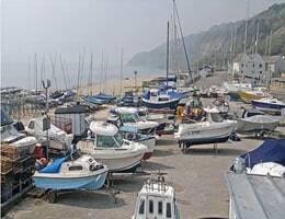 Lyme Regis Harbour Webcam Live