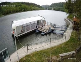 Fužine Tourist Boat Webcam Live
