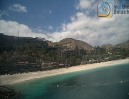 Gran Canaria Anfi Beach Webcam Live