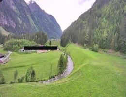 Kaunertal Hotel Weisseespitze Webcam Live