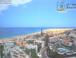 Gran Canaria Playa del Inglés Webcam Live