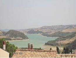 Lago di Guardialfiera Webcam Live