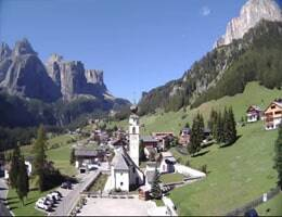 Chiesa di Colfosco Kolfuschg Webcam Live