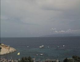 Isola del Giglio Spiaggia Arenella Webcam Live