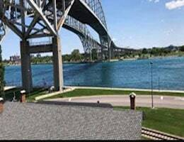 Port Huron Blue Water Bridge Webcam Live