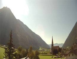 Sand in Taufers Pfarrkirche Webcam Live