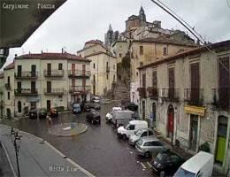 Carpinone Piazza Mercato Webcam Live