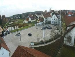 Röttenbach Rathaus-Vorplatz Webcam Live