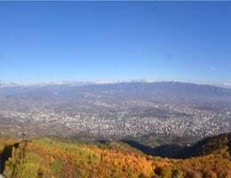 Skopje Vodno Mountain Webcam Live