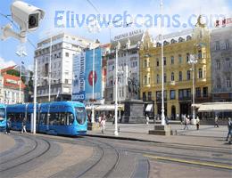 Zagreb Ban Jelačić Platz Webcam Live