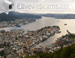 Bergen Fløyen Webcam Live
