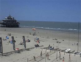 Blankenberge Strand und Belgium Pier Webcam Live