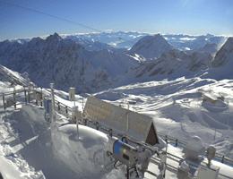 Garmisch-Partenkirchen Schneefernerhaus Webcam Live