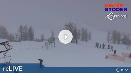 Hinterstoder Höss-Express Bergstation Webcam Live