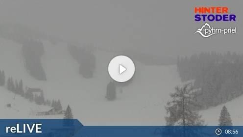 Hinterstoder Hössbahn Bergstation Huttererböden Webcam Live
