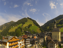 Saalbach Hotel Alpinresort Webcam Live