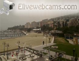 Strand in Portorož Webcam Live