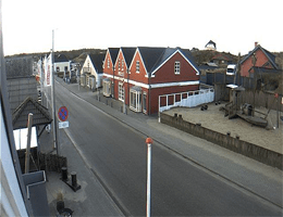 Vejers Strand Innenstadt Webcam Live