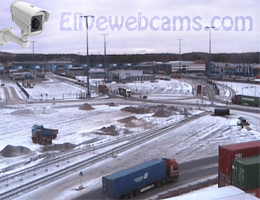 Vuosaari Hafen Gate Area Webcam Live