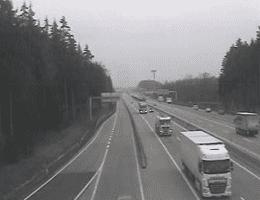 A01 West Autobahn Blickrichtung Salzburg Km 195,07 Webcam Live