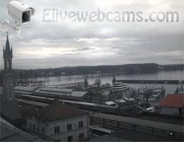 Konstanz Bahnhof und Hafen Webcam Live