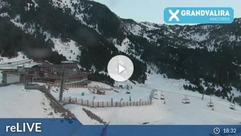 Canillo Grandvalira El Forn Webcam Live