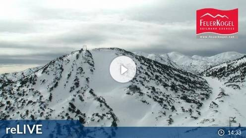 Ebensee Feuerkogel Hochplateau Webcam Live