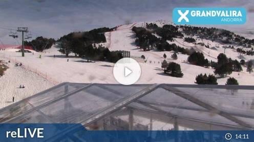 El Tarter Grandvalira Pi de Migdia Webcam Live