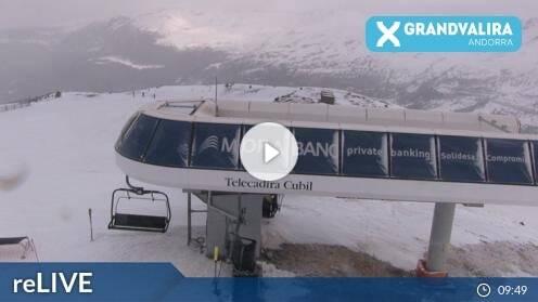 Grau Roig Grandvalira Pic de Cubil Webcam Live