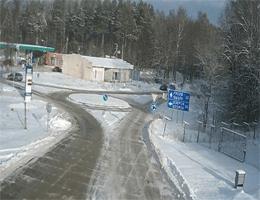 Gusev Gołdap Grenzübergang Webcam Live