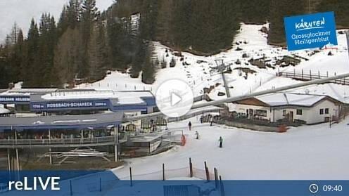 Heiligenblut am Großglockner Rossbach Mittelstation Webcam Live