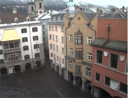Innsbruck Goldenes Dachl Webcam Live